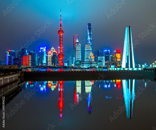 Deurstickers Shanghai Shanghai, China.