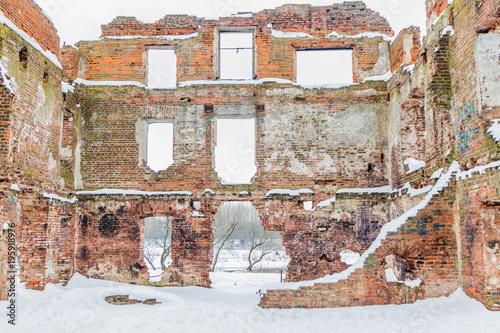 Poster Ruine Руины, кирпичные развалины, старый замок
