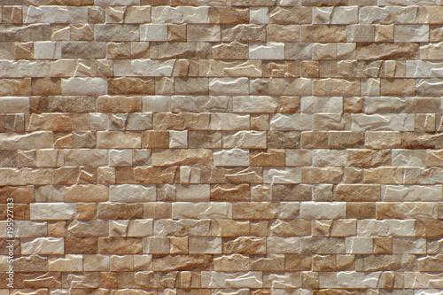 Foto op Aluminium Stenen brick wall background or texture