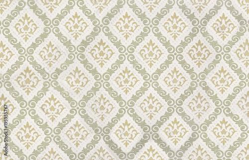 nostalgiczny-wzor-tapety-z-ornamentami-lilii