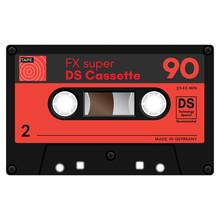 Audio Cassette Tape Illustrati...