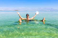View Of Dead Sea Coastline. Sa...