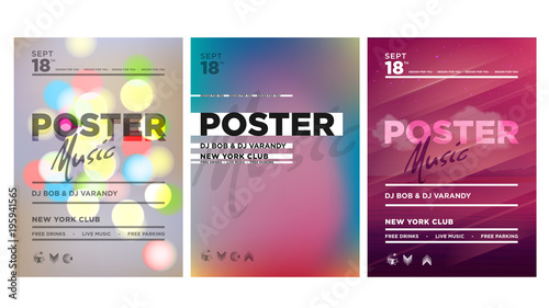 Template Design Layout Poster Vector Abstract Modern Backgrounds