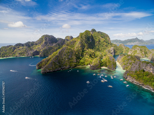 Big Lagoon In El Nido Palawan Philippines Tour A Route