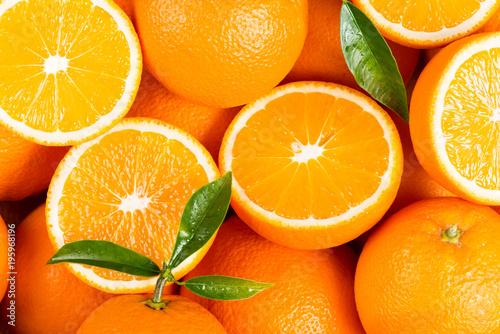 Background from orange fruits.