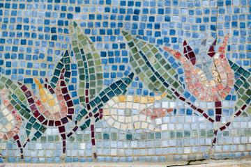 Panel Szklany Podświetlane Mozaika Mosaic art, texture, pattern