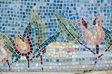 Panel Szklany Mozaika Mosaic art, texture, pattern