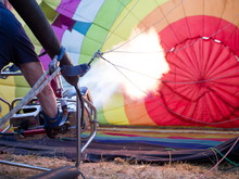 Hot Air Balloon - Preparation ...