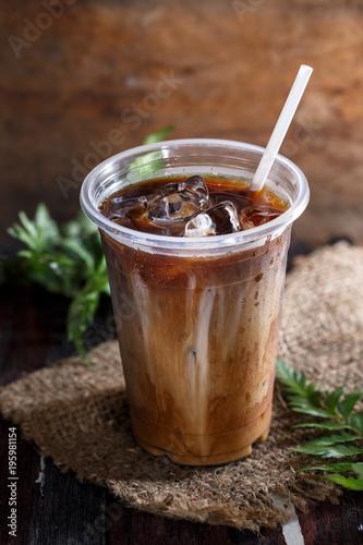 Fotografie, Obraz  Café Glacé ou Iced Coffee