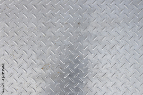 Poster Metal steel wall texture with modren natural pattern