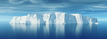 View Of Iceberg With Beautiful...