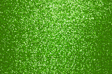 Sparkling Green Sequin Textile Background
