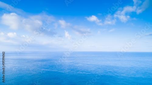 Fotobehang Zee / Oceaan aerial shot sea scenery