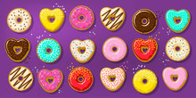 Different Sweet Donuts