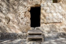 The Garden Tomb In Jerusalem, ...