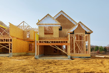 New Construction Of A House Fr...
