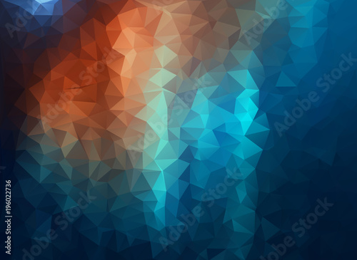 Grunge background with triangle shapes for your design