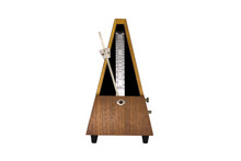 Vintage Metronome Isolated On ...