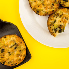 Cooked Vegetarian Bubble And Squeak Cakes