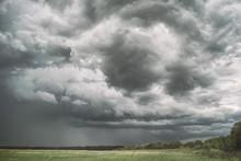 Large Picturesque Rain Clouds ...