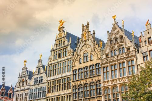 Foto op Plexiglas Antwerpen Antwerp Grote Markt