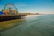 Santa Monica Beach, Los Angeles, USA