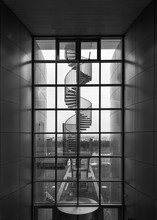 Spiral Staircase Outside The P...