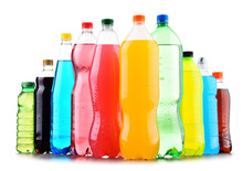 Plastic Bottles Of Assorted Ca...