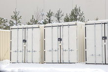 Secure Storage Units In Winter