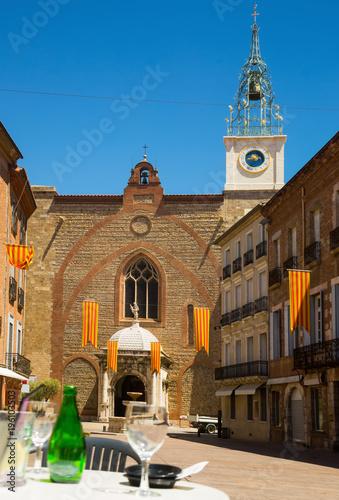 Stampa su Tela Cathedral Basilica of Saint John the Baptist, Perpignan