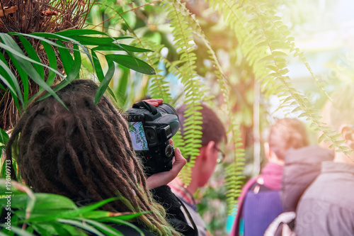 Photo  Concept - photography on an excursion