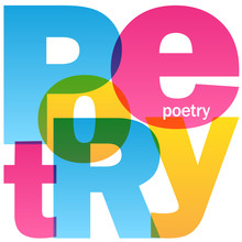 POETRY Colourful Letters Icon