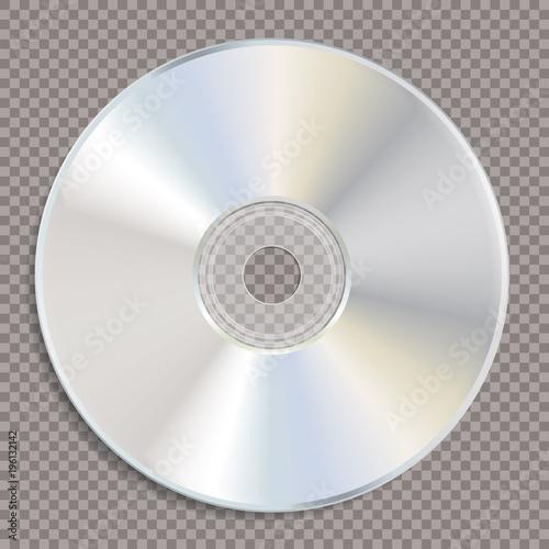 Fotografía blank white CD trans
