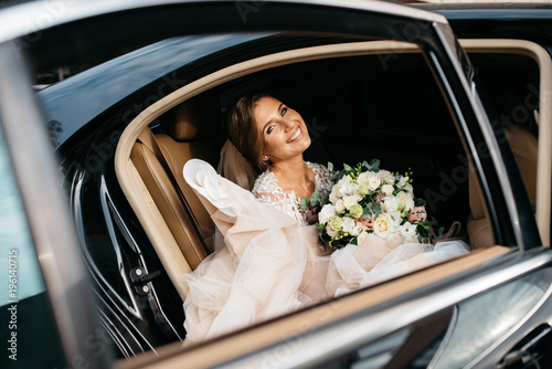 Fotomural The bride the day of his marriage