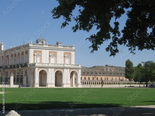 Palace and gardens in Aranjuez, Spain