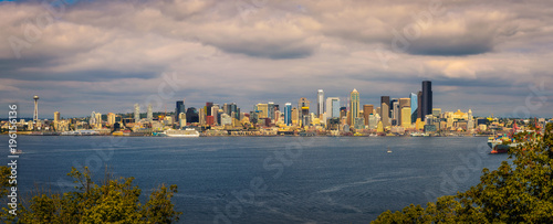 Photo  Seattle skyline panorama