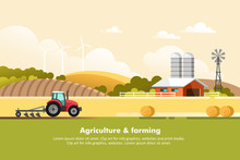 Agriculture And Farming. Agrib...