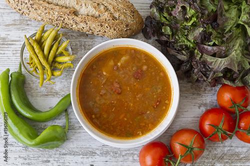 Photo  Basque beans