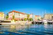 Beautiful harbor of Savona, Liguria, Italy
