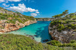 Es calo des Moro beautiful beach Clasified as one of the best beaches in the world. Located in Santanyi, Majorca, Balearic Islands, Spain.