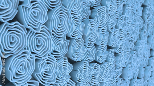 pattern-from-blue-flowers