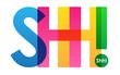 SHH! Colourful Letters Icon