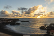 The beach Punta Larga near Fuencaliente de la Palma at sunset