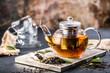 canvas print picture - Frisch gebrühter Tee