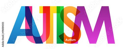Plakaty Autyzm autism-vector-letters-icon