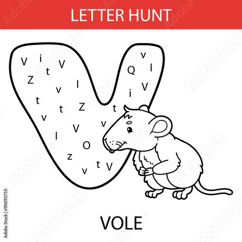 Vector Illustration Of Printable Kids Alphabet Worksheets