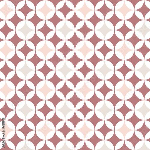 Poster  Muster moderne Farben