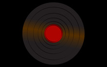 Black Iridescent Vinyl Musical...