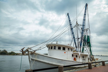 Shrimp Boat In Savannah