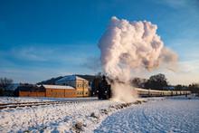 A Steam Engine In Austria As I...